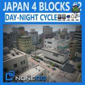 Cgtrader - Japan 4 Blocks Set-2 3D model 009 cover (3ddanlod.ir)