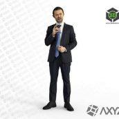 Elegant Man Body scanned 3d model (3ddanlod.ir)