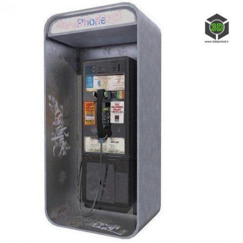 Matrix Pay Phone – 3D Model (3ddanlod.ir)