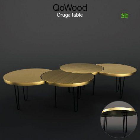 Oruga Table 202 gold (3ddanlod.ir)