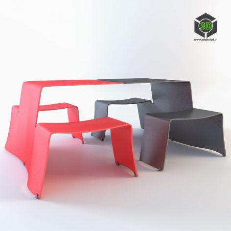 'Picnik' table 003 (3ddanlod.ir)