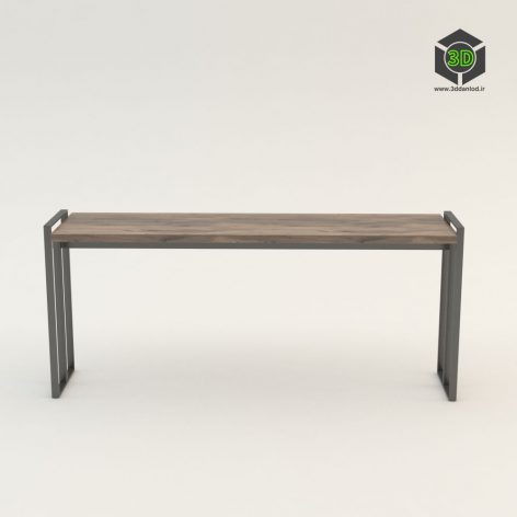 Sara Wise Hourglass Console Table 110 (3ddanlod.ir)