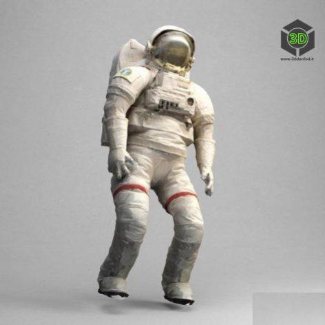 Space Suit Scanned – 3D Model (3ddanlod.ir)