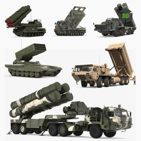 TurboSquid – Military Vehicles 3D-Models Collection001(3ddanlod.ir)