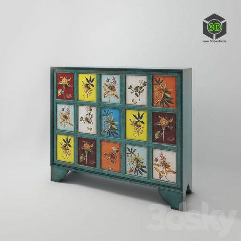 Wood_cabinet_CAB23 061 (3ddanlod.ir)