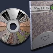 World Matters 2500 Tile-ableSeamless Texture Library cover (3ddanlod.ir)