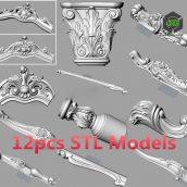 cgtrader-Bed.sofa.back.flower.STL.relief.model.for.cnc.carving.S037.3D.model-3ddanlod.ir