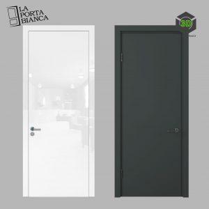 Дверь межкомнатная Рут от LaPortaBianca 088 (3ddanlod.ir)