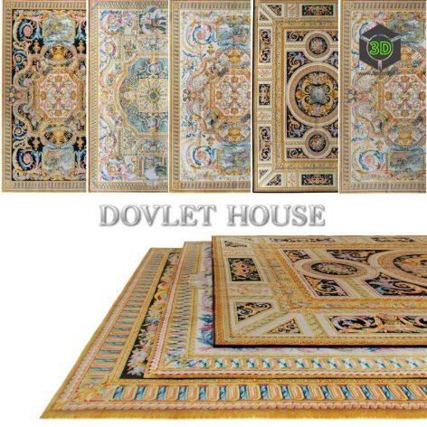 Ковры DOVLET HOUSE 5 штук (part 11) 192 (3ddanlod.ir)