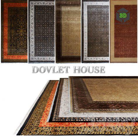 Ковры DOVLET HOUSE 5 штук (part 17) 032 (3ddanlod.ir)