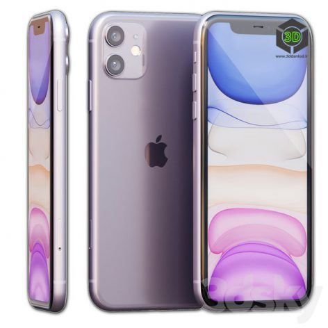 AVE Apple IPhone 11(3ddanlod.ir) 1055
