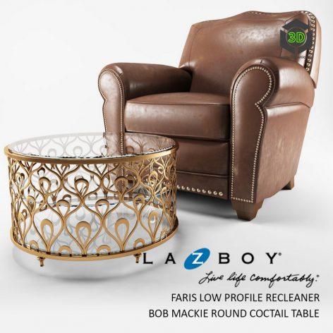 BOY Faris Recleaner Chair(3ddanlod.ir) 1583