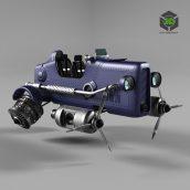 CAR Dragonfly (max 2011, fbx)(3ddanlod.ir)