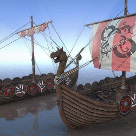 CGTrader–Cgtrader - Game Ready Medieval Viking Ship Pack Low-poly009(3ddanlod.ir)
