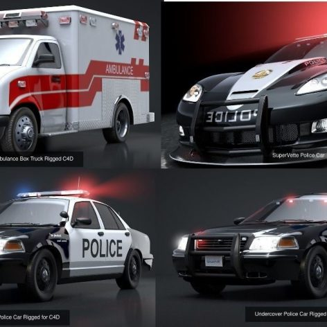 CGTrader–Emergency.Vehicles.Collection.Pack 007(3ddanlod.ir)
