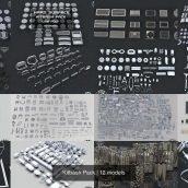 CGTrader – All Kitbash Collection UV'ed 010 cover (3ddanlod.ir)