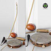 Capoeira Music Set(3ddanlod.ir) 1532