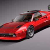 Cgtrader - Ferrari 308 GTB GTS 1975-1984 3D Model(3ddanlod.ir)