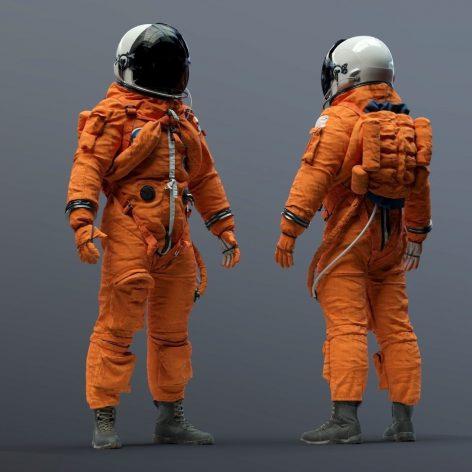 Cgtrader - SPACESUIT NASA ACES 3D model 004(3ddanlod.ir)