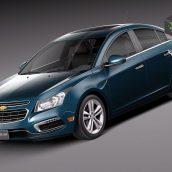 Chevrolet Cruze Sedan 2015 3D Model (2)(3ddanlod.ir)