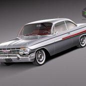Chevrolet Impala Coupe 1961 3d Model (2)(3ddanlod.ir)