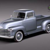 Chevrolet Pickup 1950 (3ddanlod.ir)
