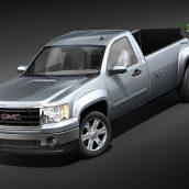 Chevrolet Silverado 2500hd crew cab 2012 3D Model(3ddanlod.ir)