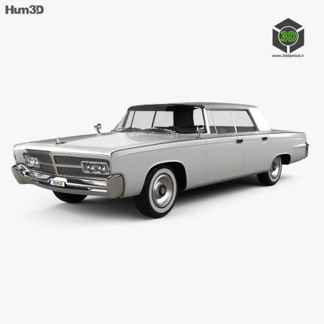Chrysler Imperial Crown 1965 3d model(3ddanlod.ir)