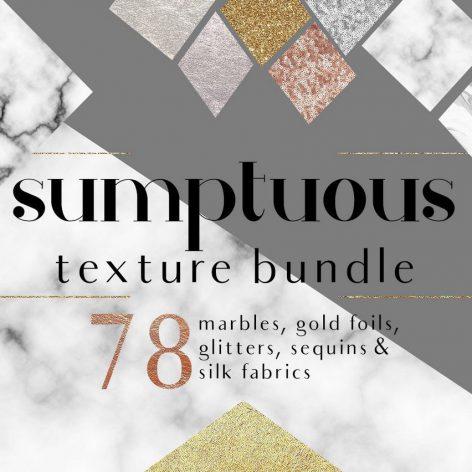 CreativeMarket - Sumptuous Textures Bundle 001 cover (3ddanlod.ir)