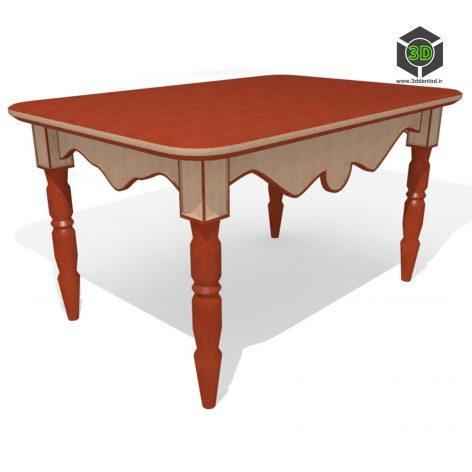 Table classic 025 (3ddanlod.ir)