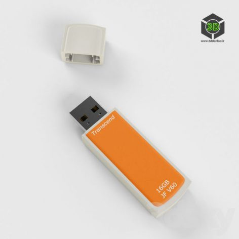 USB Flash drive Transcend 16GB JFV60 036 (3ddanlod.ir)