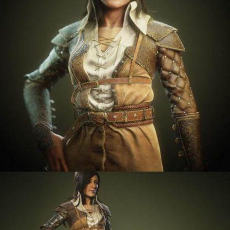 Ume Swordswoman (3ddanlod.ir)
