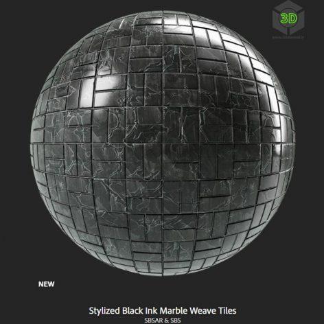 stylized_black_ink_marble_weave_tiles (3ddanlod.ir)