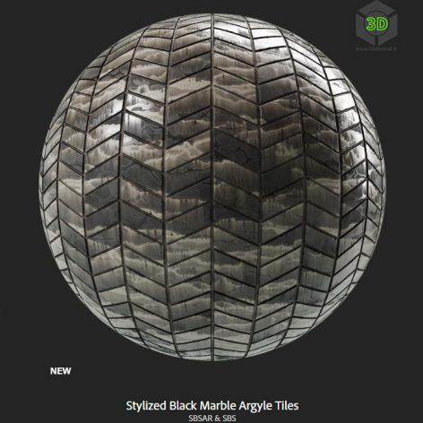 stylized_black_marble_argyle_tiles (3ddanlod.ir)