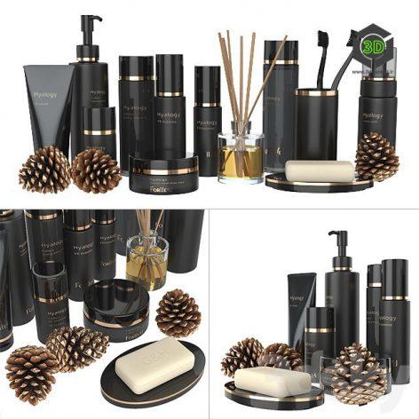 A Set of Black Cosmetics(3ddanlod.ir) 035
