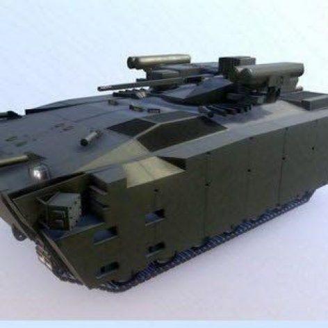 APC Kurganets-25 – 3D Model (3ddanlod.ir)