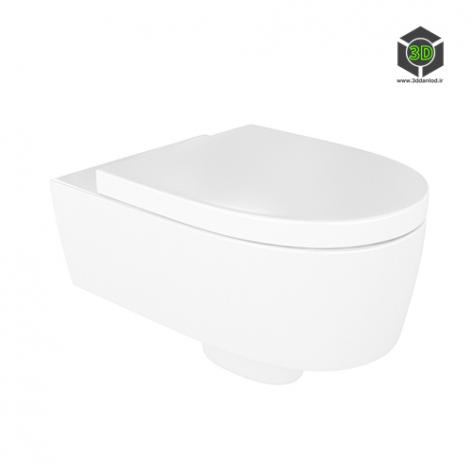 دانلود آبجکت توالت فرنگی 030