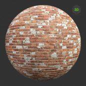 BricksOldPaintFlakedRed001 (3ddanlod.ir)