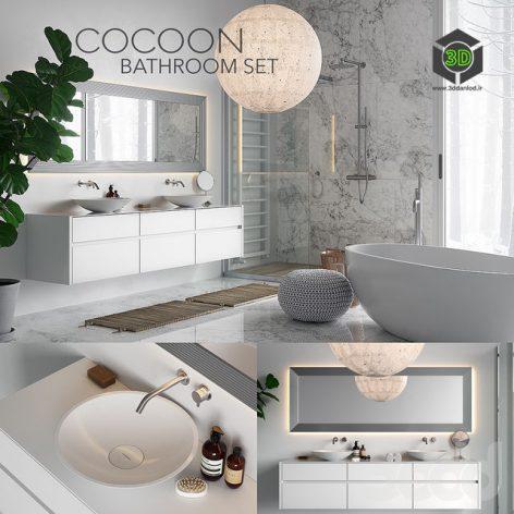 COCOON Bathroom Set(3ddanlod.ir) 375