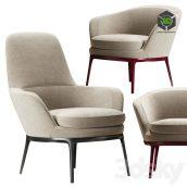 Chairs Maxalto Caratos(3ddanlod.ir) 805