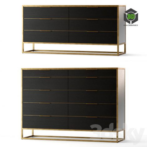 Crate and Barrel Oxford Dresser(3ddanlod.ir) 799