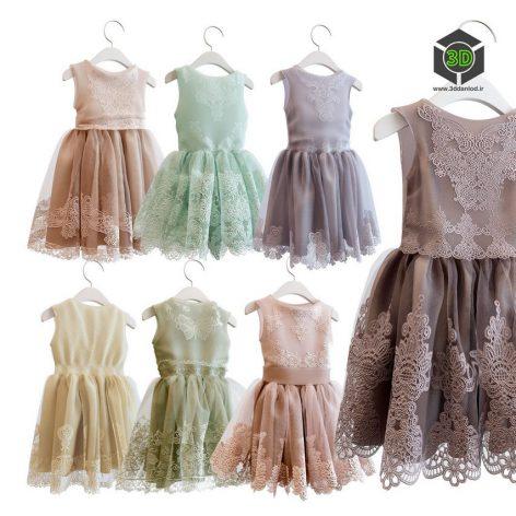 Dresses for a little Princess(3ddanlod.ir) 1811