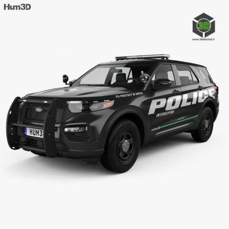 Explorer 2020 Police Interceptor(3ddanlod.ir)
