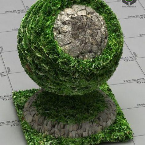 Grass with Sone_by_Yudiz_xl_4123 (3ddanlod.ir)