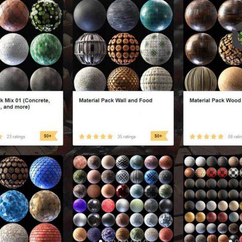 Gumroad Julio-Sillet-3D-Art All-Texture-Packs(3ddanlod.ir)