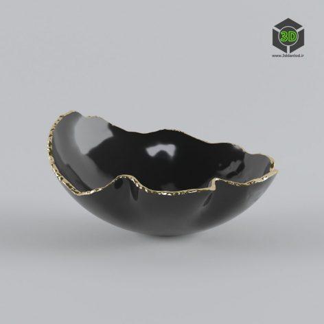 KATHARINE POOLEY ORGANIC BLACK BOWL 199 (3ddanlod.ir)