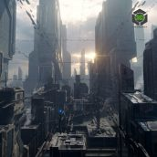 Kitbash3D – Sci-Fi Industrial 005 cover (3ddanlod.ir)