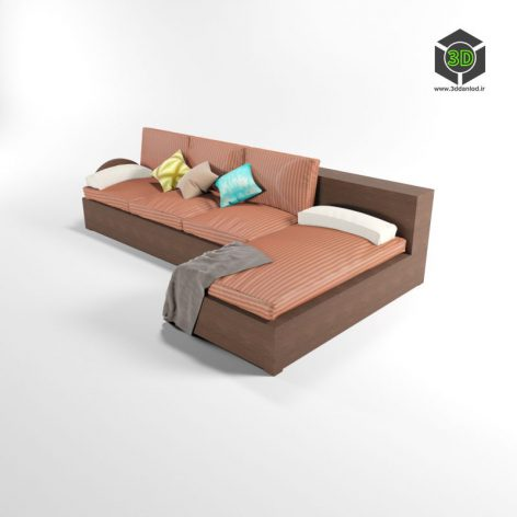 Sofa Library 150 (3ddanlod.ir)
