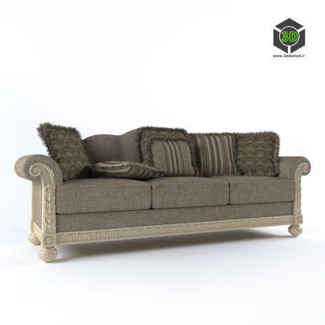 Sofa classic. Brend Ashley Mebel 165 (3ddanlod.ir)
