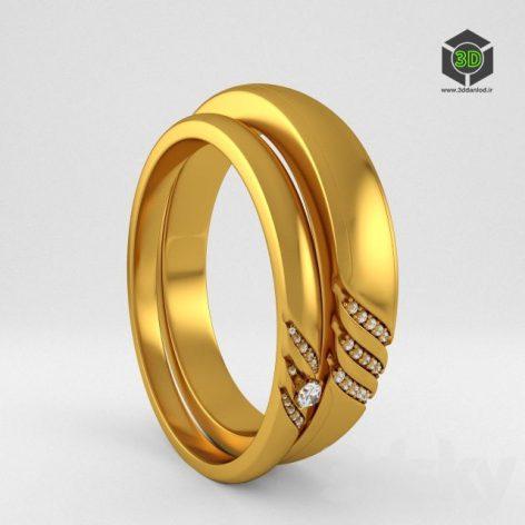 Wedding Rings 041 (3ddanlod.ir)